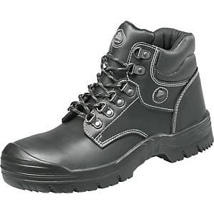 Bezpečnostná členková obuv Bata Classics Stockholm, S3 SRA, veľkosť 43, čierna