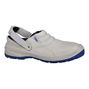 Chodaki TECHWORK Premium White 1136P S2 SRC, białe, rozmiar 38