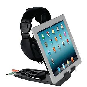Allsop 7140 Headset Hanger teline kuulokkeille, tabletille, puhelimelle