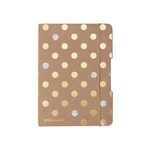 Sešit Herlitz my.book Flex Pure Glam A5, puntíkovaný, 40 listů