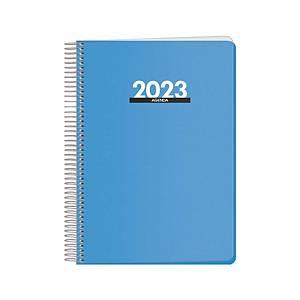 Agenda Dohe Metropoli - día página - 150x210 mm - azul