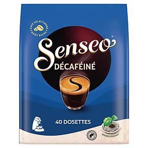 Café Senseo Décaféiné - paquet de 40 dosettes