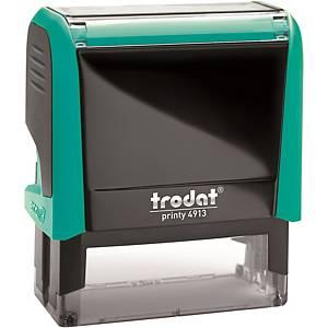 Monture seule pour tampon Trodat Printy 4913 - turquoise