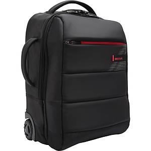 Designový 15,6  BESTLIFE batoh a kufřík v jednom s konektorem, černý