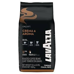 Kaffee Lavazza Expert Crema Aroma, ungemahlen, 1000g