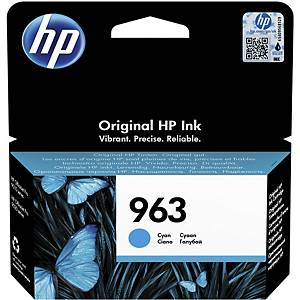 Tintenpatrone HP No. 963C 3JA23AE, 700 Seiten, cyan