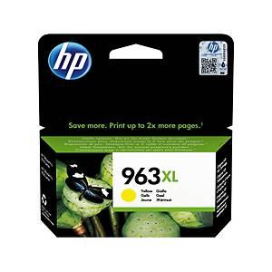 Cartouche d encre HP n° 963XL 3JA29AE, 1600 pages, jaune