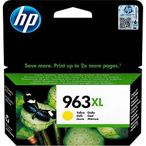 HP 963xl inktjetcartridge  3ja29a geel
