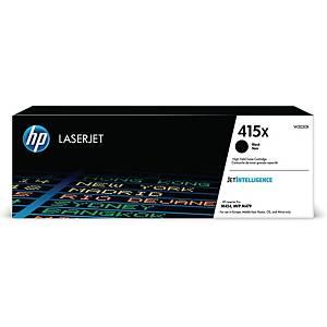 HP 415X W2030X laservärikasetti musta