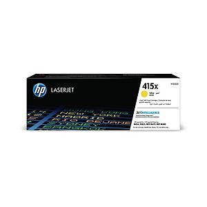 Toner HP W2032X - 415X, Reichweite: 6.000 Seiten, gelb