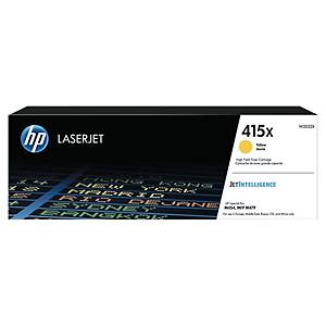 HP 415X (W2032X HY) toner cartridge, geel