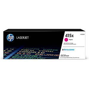 Toner LaserJet HP415X W2033X, 6000 Seiten, magenta
