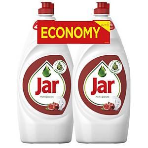 Jar Granatapfel Handspülmittel 900 ml, 2 Stück