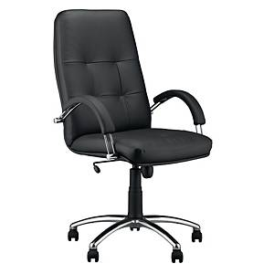 NOWY STYL ZENIT CHAIR LEATHER BLACK