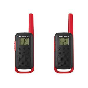 MOTOROLA T62 TWIN TWO-WAY RADIOS