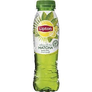 Lipton Ice Tea Matcha Yuzu Citron Vert, 33 cl, le paquet de 24 bouteilles