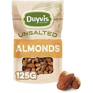 DUYVIS ALMONDS UNSALTED ORIGINAL 125G