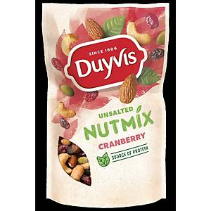 DUYVIS NUTMIX UNSALTED CRANBERRY 125G