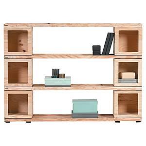 Bibliothèque Bene Pixel - H 180 x L 176 cm - pin