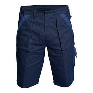 Szorty CERVA Max, niebiesko-granatowe, rozmiar 56