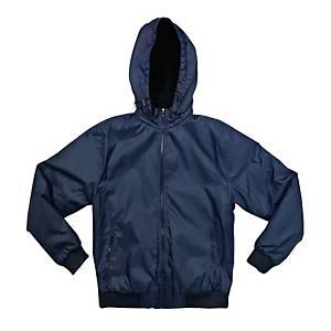 Giubbino con cappuccio  Life Prowears 710 blu navy tg S