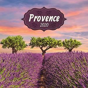 PRESCO fali lemeznaptár Provence 2020, illatosított