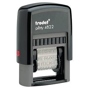 TRODAT PRINTY 4822 12-TEXT STAMP NO