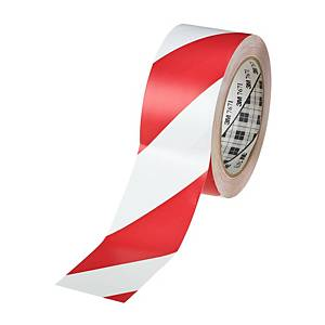 3M 767I TAPE PVC 50MMX33M WHITE/RED