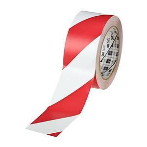 3M™ 767i jelölőszalag vinilből, 50 mm x 33 m, fehér/piros