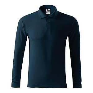 Bluzka polo MALFINI Pique LS, granat, rozmiar 3XL