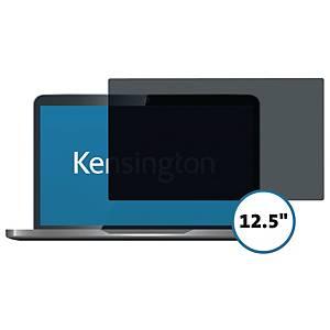 Skærmfilter Kensington Privacy 626455, 12,5 , 16:9, aftageligt