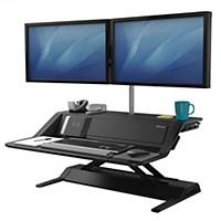 FELLOWES LOTUS DX SIT-STAND W/STAT BLK