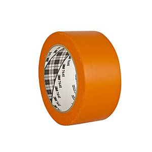 3M™ 764i marking vinyl tape, 50 mm x 33 m, orange