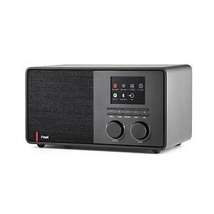 Radio Pinell Supersound 301, FM, DAB+, WIFI, Bluetooth, sort