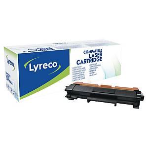 Lasertoner Lyreco Brother TN2420 kompatibel, 3.000 sider, sort