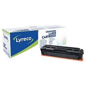 Cartouche HP Color LaserJet Pro M254 (CF540A) remanufacturée par Lyreco, noire