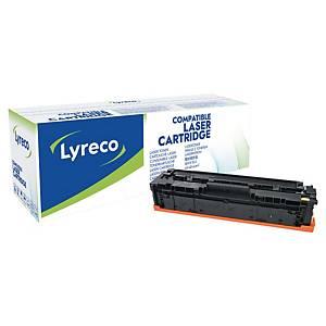 Lyreco Compatible 203A HP CF542A Toner Cartridge Yellow