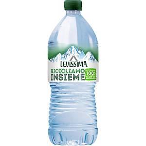Acqua minerale naturale Levissima bottiglia BioPet 1 L - conf. 6
