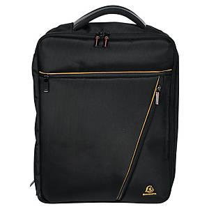 Exactive Dual 15,6  laptoptáska/hátizsák, fekete
