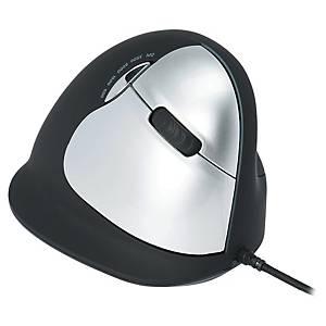 Mysz ergonomiczna R-GO praworęczna, przewodowa, rozmiar L