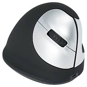 R-GO TOOLS ergonomische draadloze muis voor rechtshandigen, medium