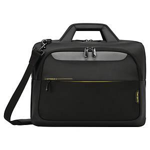 Targus City Gear Topload laptoptas, voor laptop van 12 tot 15,3 inch, zwart