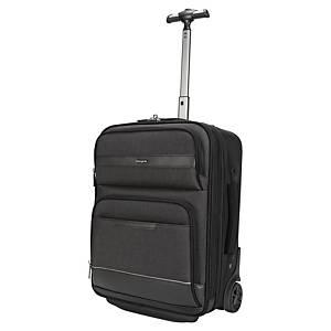 Targus TBR038GL CitySmart trolley, voor laptop tot 15,6 inch, zwart