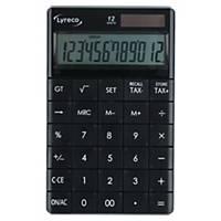 Calculadora de secretária Lyreco - 12 dígitos - preto