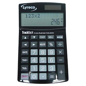 Lyreco Desk Calculator 12-Digit 2-Line