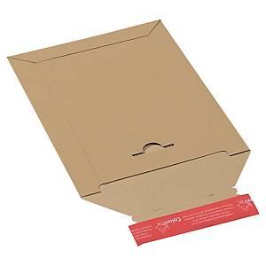 ColomPac® verzendenvelop, bruin karton, zelfklevende sluiting, per stuk