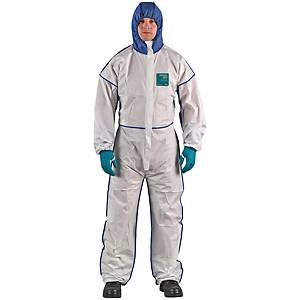 Combinaison de protection Microgard 1800, tailleL, bleu/blanc