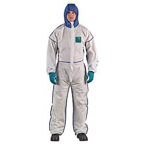 MICROGARD 1800 COMFORT COVERALL WH L
