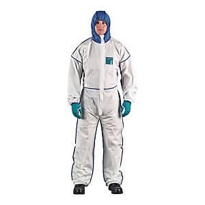 Kombinezon ANSELL AlphaTec® 1800 comfort, biały, rozmiar XL
