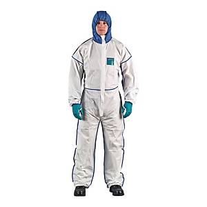 Kombinezon ANSELL AlphaTec® 1800 comfort, biały, rozmiar XXL